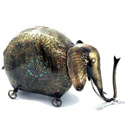 Hucha Elefante Metal