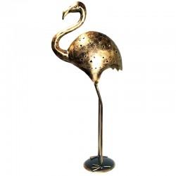 Portavelas Flamenco dorado...