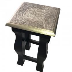 Mesa de madera y metal talla L