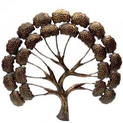 árbol de la vida en metal...