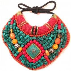 Babero Tibetano piedras...