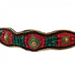 Cinturón Tibetano coral,...