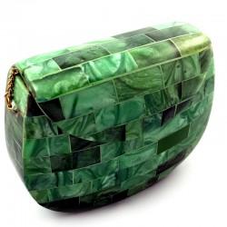 clutch rígido resina verde.