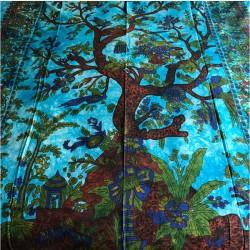 Colcha árbol de la vida